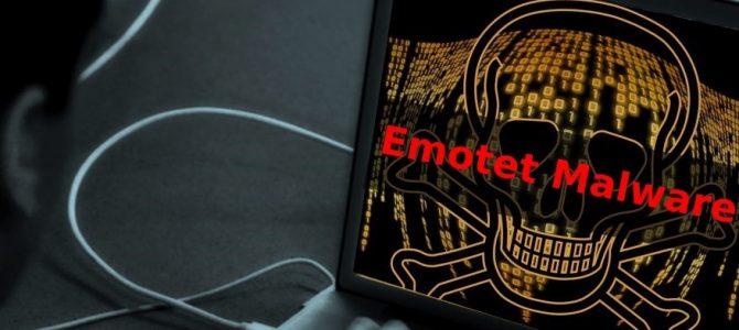 Jak se vypořádat s malwarem Emotet