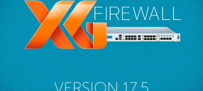 Nový XG Firewall v17.5 MR6