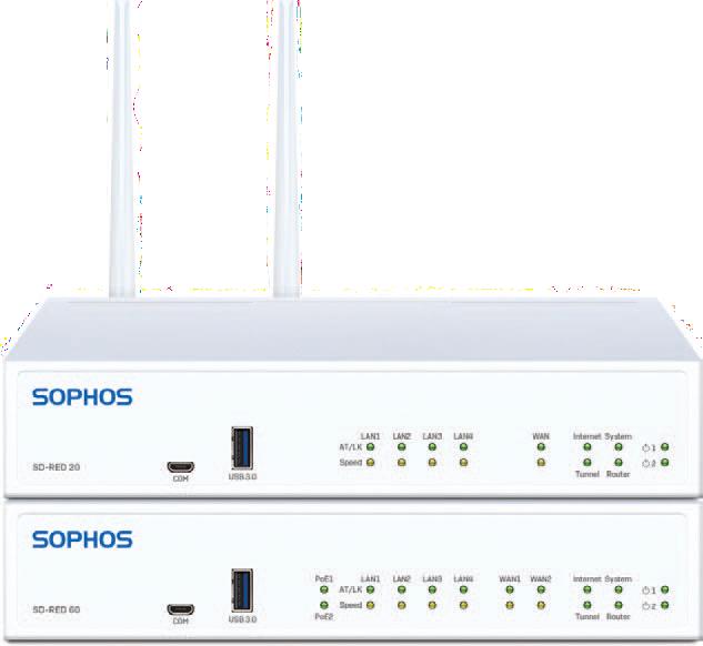 Nové Sophos SD-RED