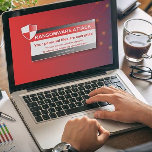 Ransomware ochrana