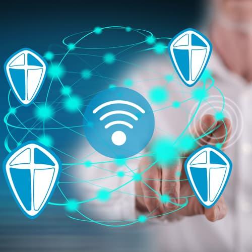 Zabezpečení wifi sítě