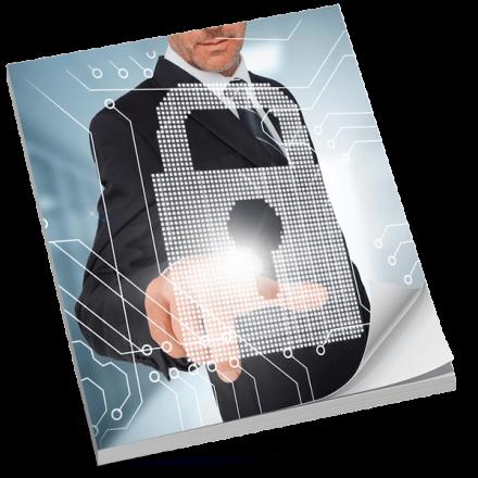 E-book Ochrana firemních dat mockup